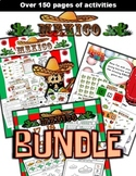 Mexico Classroom Center Activity Bundle