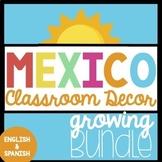 Mexico Classroom Decor Growing Bundle