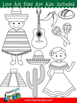 Mexico Clip Art Collection