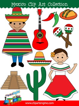 Mexico Clip Art Collection