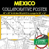 Mexico Collaborative Poster, Mapping Mexico Activity, Mexi