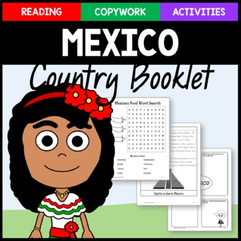 Mexico Copywork, Activities, and Country Booklet