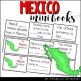 Mexico Country Mini Books Countries Around the World