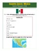 Mexico - Culture Internet Activity