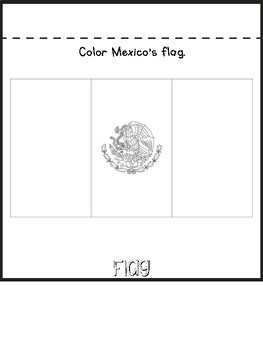 Mexico Country Research Flip Book