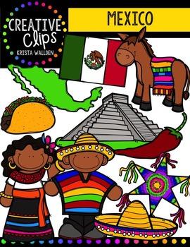 Mexico {Creative Clips Digital Clipart}