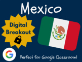 Mexico - Digital Breakout! (Distance Learning, Google Classroom)