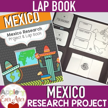Mexico Discovery Research Lapbook