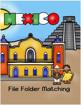 Mexico File Folder Matching