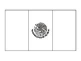 Mexico Flag Template Mexican Flag Template Bandera de Mexico