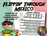 Mexico Flip Book: A Social Studies Interactive Activity for Grades 2-5