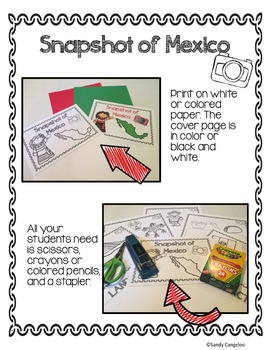 MEXICO FLIPBOOK: Country Facts With Resources