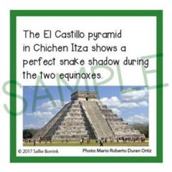 Mexico Unit Activity - Fun Fact Cards, Bulletin Board Idea