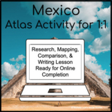 Mexico Geography Atlas Activity for 1:1 Google Drive Classroom