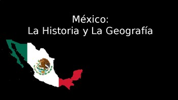Mexico History and Geography