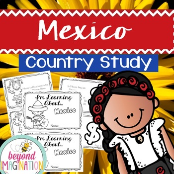 Mexico Country Study | 48 Pages for Differentiated Learning + Bonus Pages