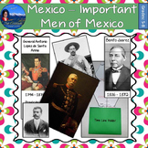 Mexico - Important Men of Mexico