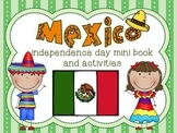Mexico Independence Day Mini Book and Activities Distance Learning