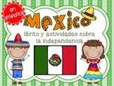 Mexico Independence Day Mini Book and Activities EN ESPAÑOL Distance Learning