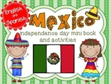 Mexico Independence Day Mini Book and Activities BILINGUAL Distance Learning