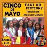 Spanish Cinco de Mayo Distance Learning, English Cinco de