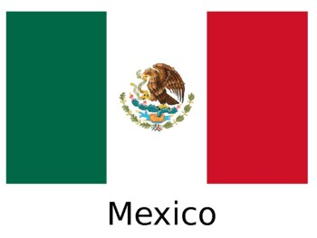 Mexico Map and Word Search Color