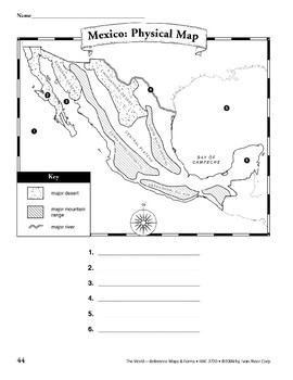 Mexico: Maps & Forms
