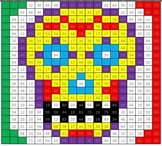 Mexico Math Mystery Picture Puzzles - Adding & Subtracting Tens