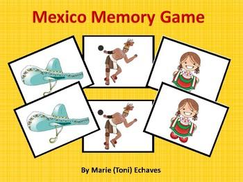 Mexico Memory Game