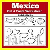 Mexico | Mexico Worksheet | Mexico Activity | All About Mexico | Mexico Symbols