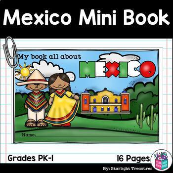 Mexico Mini Book for Early Readers - A Country Study