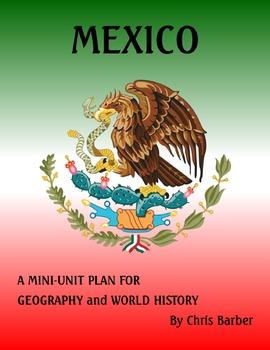 Mexico Mini-Unit Plan