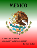 Mexico Mini-Unit Plan