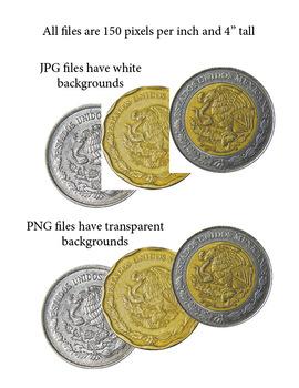 Mexico Money Clip Art - Mexican Coins Clip Art