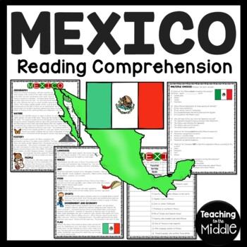 Mexico Overview Reading Comprehension; North America; Country
