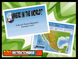 Mexico Physical Geography Class GAME: World Scavenger Hunt Activity