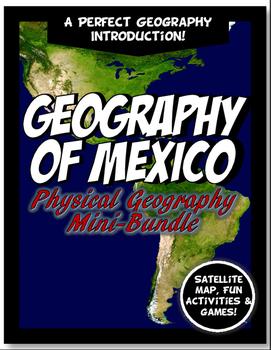 Mexico Physical Geography Mini Bundle Lesson Set