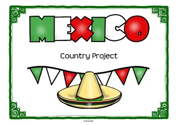 Mexico Project for Geography