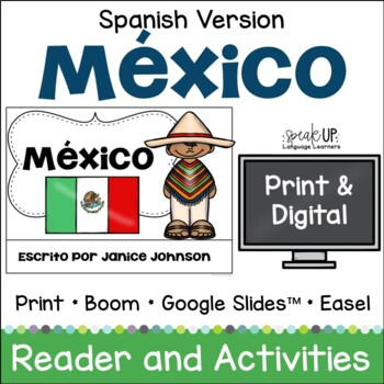 México Reader {Mexico ~ en español} & Vocab pages ~ Simplified
