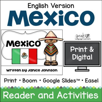 Mexico Reader {English version} & Vocab pages ~ Simplified for Young Readers