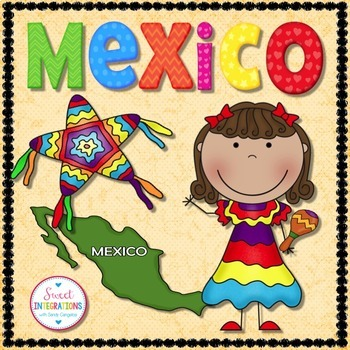 Mexico: Research Booklet Including Culture and Activities