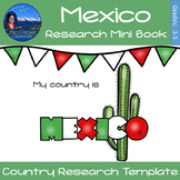 Mexico Country Study Research Mini Book