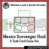 Mexico Scavenger Hunt Task Cards Game! Review, Cinco de Mayo or End-of-Year!