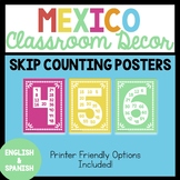 Mexico Skip Counting Posters