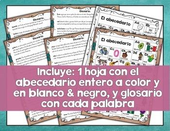 Cultural Spanish Alphabet Classroom Decor{Posters Culturales del Abecedario}