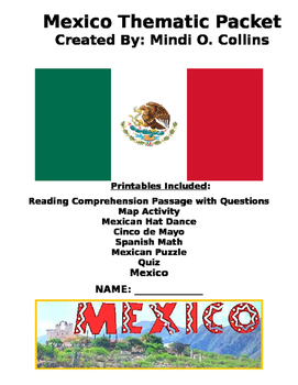 Mexico Thematic Unit