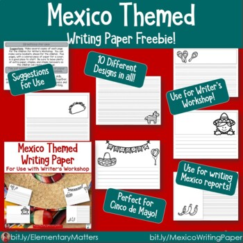 Mexico Themed Paper