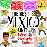 Mexico Unit! Growing Bundle: Geography, History, Hispanic