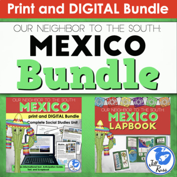 Mexico Unit and Lapbook Bundle with Informational Text