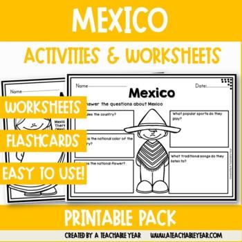 Mexico - Vocabulary Pack